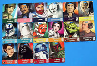 Convention Badge 2010 vtg LOT OF 16 Celebration V - Boba Fett Yoda ++ Star Wars