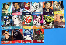 Convention Badge 2010 vtg LOT OF 16 Celebration V - Boba Fett Yoda ++ Star Wars