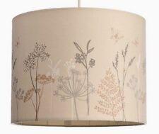 RETRO NEUTRO Floreale Foglia Farfalla Drum lampada / soffitto luce ombra pendente nuovo