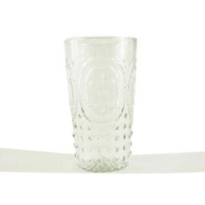Nkuku Mohita Glass / Drinking Glass /  Patterned Drinking Glass