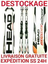 """ski occasion adulte HEAD """"SPEED SHAPE"""" taille:170cm+ fixations"""