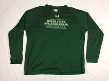 NEW Under Armour South Florida Bulls - Green HeatGear Long Sleeve Shirt (3XL)