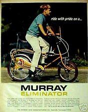 1970 Murray Bicycles Mark II Eliminator Pretzel Handlebars Bike Memorabilia AD
