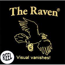 RAVEN REEL Chuck Leach COIN vanish short sleeves magic trick gaff David Blaine
