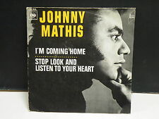 JOHNNY MATHIS I m coming home CBS 1806