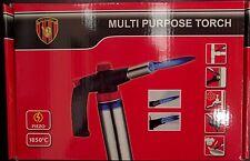 Multi Use Cigar/Cigarette Jet Gas Blow Torch Soldering Weld Gun Burner Fire Cook