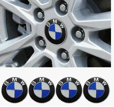 4PCS BMW Wheel Center Caps Emblem Fit BMW 68mm Emblem Replacement for All Models