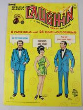 VINTAGE Paper Dolls 1969 ROWAN & MARTINS LAUGH-IN Uncut!