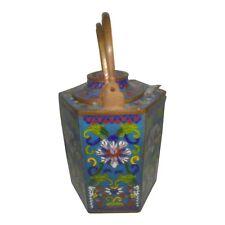 Antique Chinese Cloisonne Wine Pot, Qianlong-style
