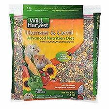 4Pound Hamster/Gerbil Food&Vitamin:Wild Harvest Nutrition Diet Seed Rabbit Food