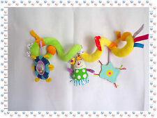V -  Spirale d'Activités Arche Jeux Lit Poussette Hochet Grelot Glace Taf Toys