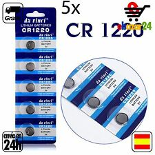 5x CR 1220 PILAS pila de botón baterías 3 V boton bateria CR1220 DL1220 BR1220 E