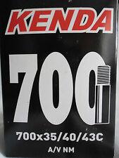 KENDA BIKE BICYCLE CYCLE INNER TUBE 700c x 35c TO 43c SCHRADER VALVE