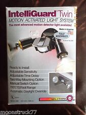 Motion detector outdoor lights NIB box, household, lighting, floodlighting