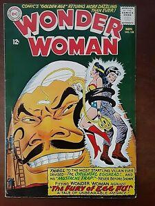 """Wonder Woman #158 (November 1965) """"The Fury Of Egg Fu!"""""""
