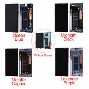 OEM LCD Display Touch Screen Digitizer Assembly+Frame For Samsung Galaxy Note 9