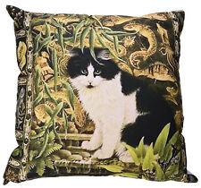 Kissenhülle Kissenbezug Motivkissen Katze