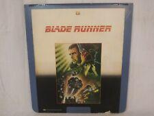 Vintage Blade Runner Ced Embassy Videodisc - Capacitance Electronic Disc System