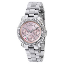 83a50491821 Juicy Couture Women s 1901104 Pedigree Pink Dial Chronograph Watch
