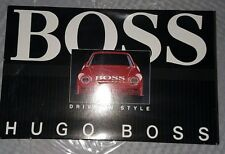 """Rare Vintage """"Hugo Boss"""" Radio Control Red sports car  NEVER REMOVED FROM BOX"""