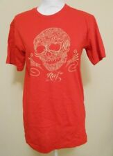 NWT Reef Calavera Red Tee Shirt Size Small