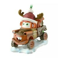 Disney Parks Tow Mater Ornament Pixar Cars Christmas Ornament Holiday McQueen