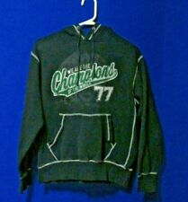 Vintage Queen We Are The Champions Pullover Sweatshirt Hoodie Small Black/Green