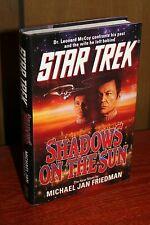 STAR TREK: SHADOWS OF THE SUN First Edition Hardcover by Michael Jan Friedman