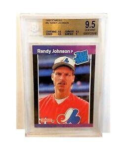 Randy Johnson 1989 Donruss Rookie Card #42 BGS 9.5 Gem Mint