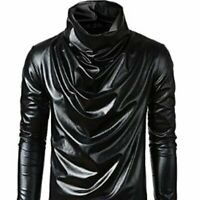 MISYAA Shirts for Men, Long Sleeve Polish,Y-3, Yohji Yamamoto