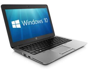 "HP EliteBook 820 G1 12.5"" i5-4200U 8GB 256GB SSD WiFi Cam W10 Pro Laptop PC"