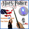 """Harry Potter 13.4"""" Hermione Magical Wand Replica LED Light Up In Box Free Tattoo"""