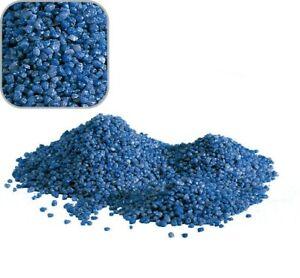 """5 KG Bleu Gravier de Quartz """" Qualité Premium """" 2-3 MM Terrain D'Aquarium"""