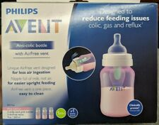 Avent Anti-Colic Plastic Assorted Baby Bottle 9oz - Pink...