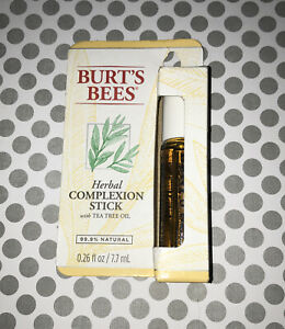 Burt's Bees Herbal  Complexion Stick Formerly Named Blemish Stick 0.26 fl Oz