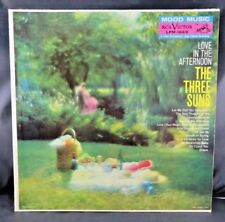 """The Three Suns Love In The Afternoon LPM-1669 RCA Victor 1959 12"""" Jazz Vinyl"""