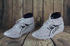 Asics Gel Kayano Trainer Knit MT Shoes White Navy Red Speckle HN707-0101 SZ 12