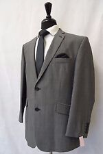 Men's Scott By The Label Tailored Fit Grey 2 Piece Suit 46R W41 L31 CC5899