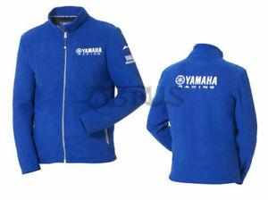 Genuine Yamaha 18 Paddock Blue Men's Fleece Jacket