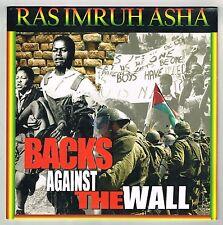 RAS IMRUH ASHA-backs against the wall    LP    reggae roots  new & sealed