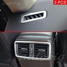Dashboard Air Vent Cover For Nissan Rogue Sport XTrail T32 Chrome Interior Trims