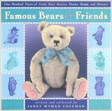 Famous Bears and Friends: One Hundred Years of Teddy Bear Stories, Poe-ExLibrary