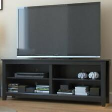 Ryan Rove Mission Wood TV Stand and Console Table Black Wooden Color, 58 Inch