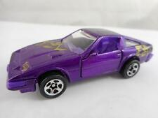 HOT WHEELS 1984 Nissan 300ZX (Purple) Model Car HOT ROD LOOSE 1/64 DIECAST N34