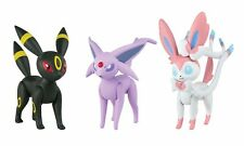 Pokemon Action Pose Umbreon, Sylveon & Espeon 3-Inch Mini Figure 3-Pack in Stock