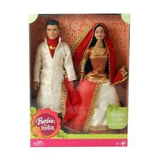 New Barbie Barbie and Ken in India Mattel |Limited edition | Free Expedited Ship