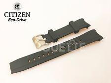 Citizen Black Rubber Watch Band BJ2110-01E, BJ2111-08E, BJ2115-07E, BJ2117-01E
