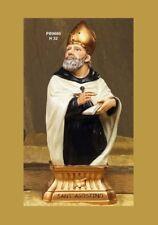 Statua Sant'Agostino in resina h 32 cm by Paben