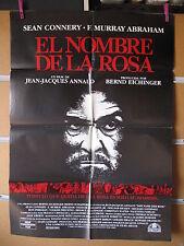 A2065   EL NOMBRE DE LA ROSA SEAN CONNERY CHRISTIAN SLATER ANNAUD