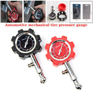 Universal Automotive high-precision Mechanical Tire Pressure Gauge with Reset